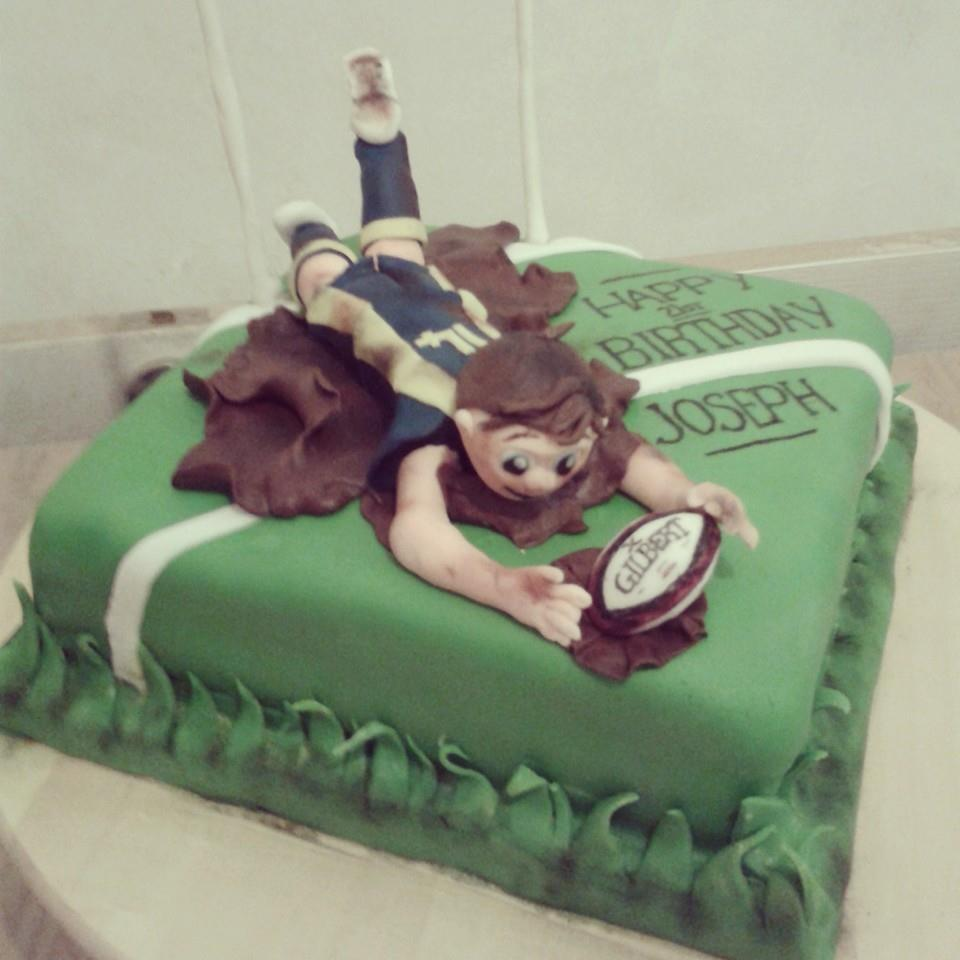 How To Make A Rugby Ball Cake Step By Step