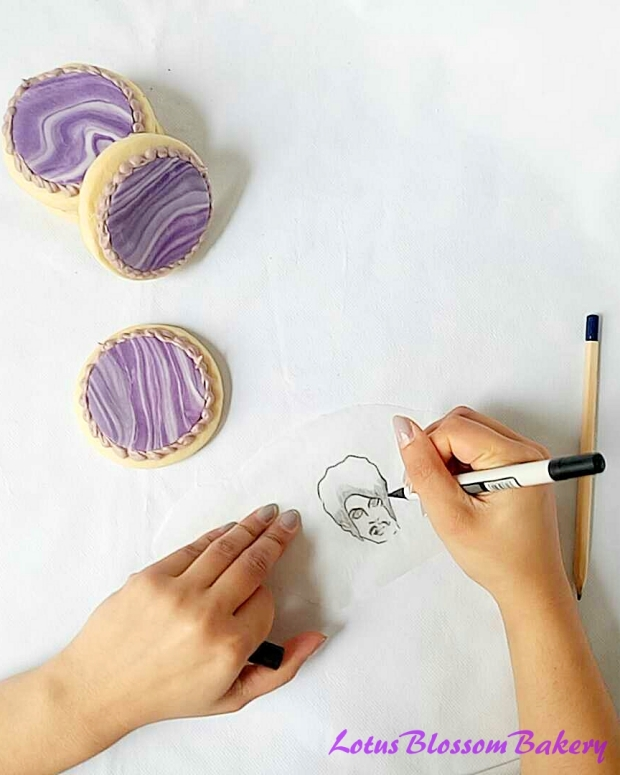 how to make purple sugar